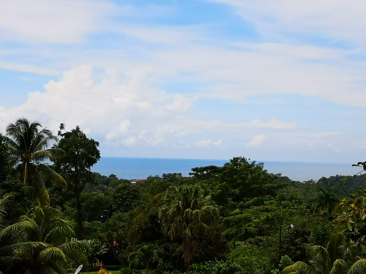 Ojochal 1.2 Acre Lot with Small Ocean View