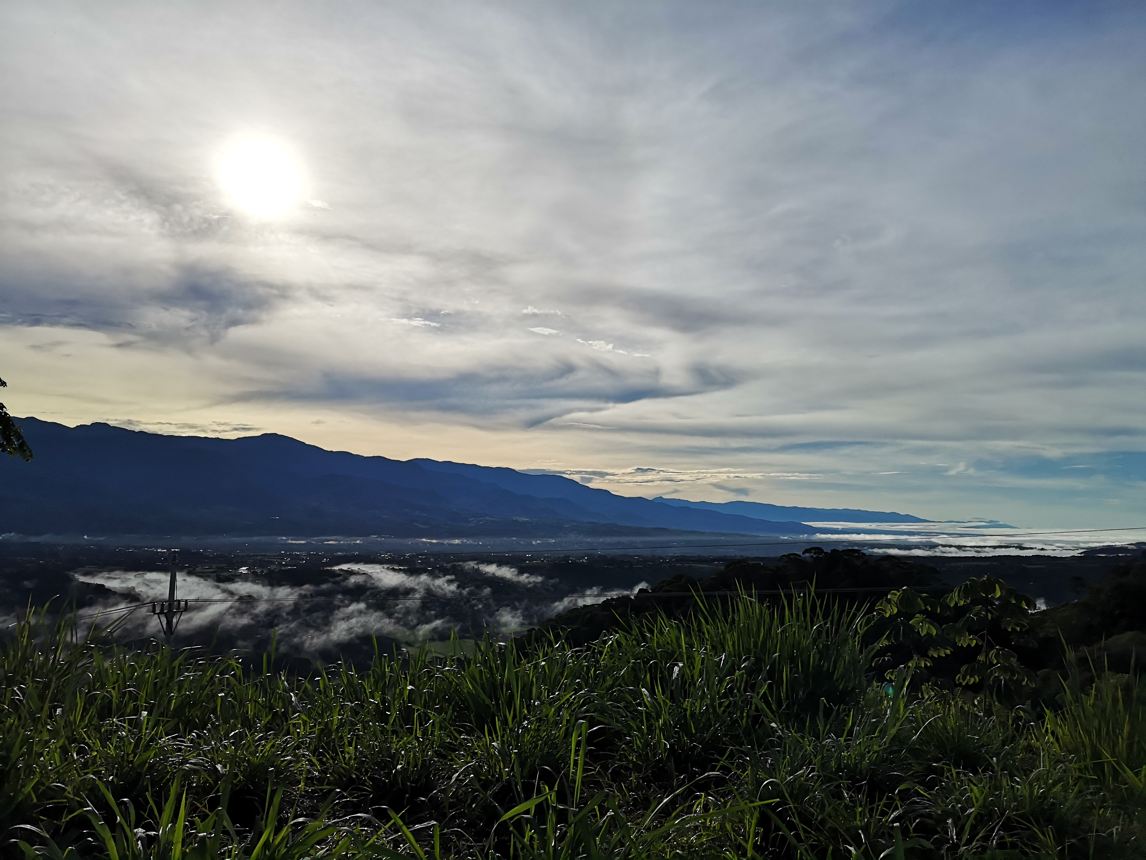 Lot overlooking the valley in Pacuarito, Perez Zeledon