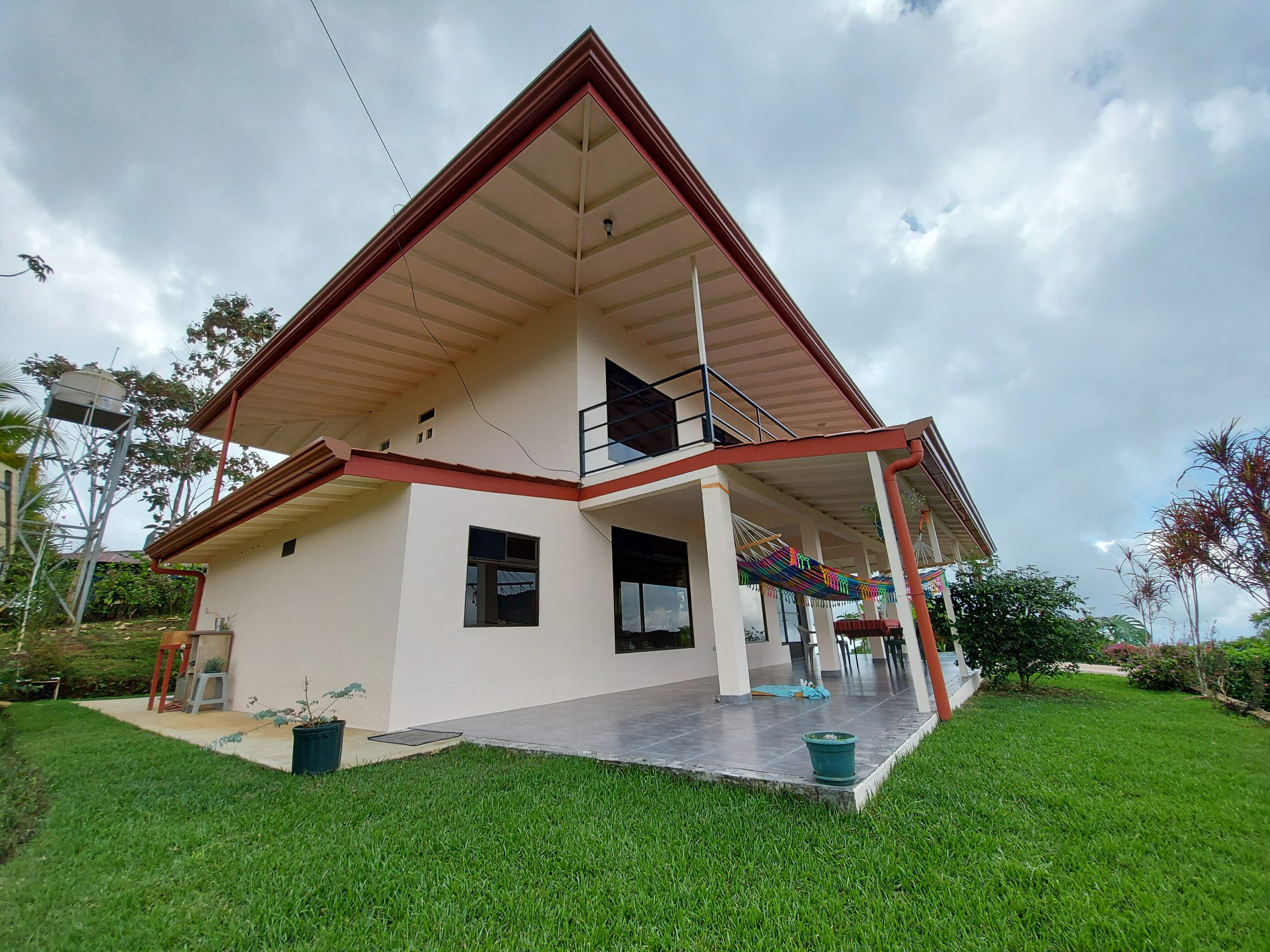 Two-level furnished house with beautiful ocean view in Caña Blanca, Baru