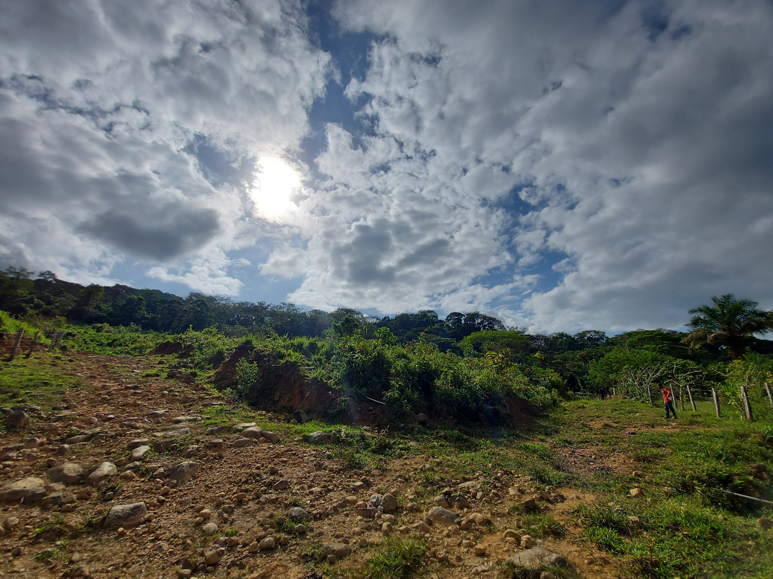 Finca with beautiful views of the mountains and creek in Uvita, Osa