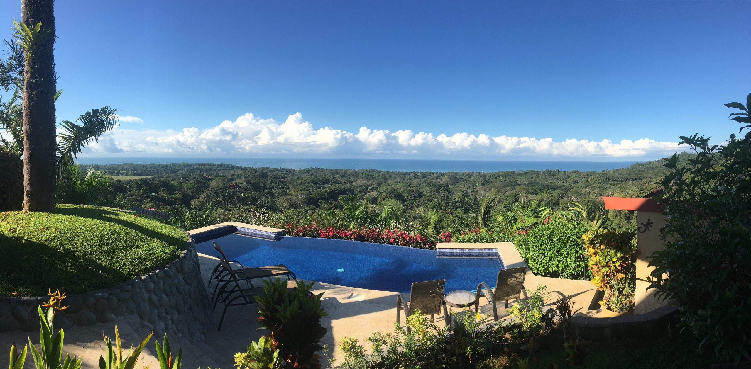 Immaculate Home with Great Ocean Views in Uvita